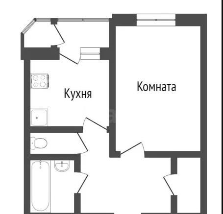 2-комн. квартиры г. Сургут, Профсоюзов 28 (мкрн 11 А) фото 11