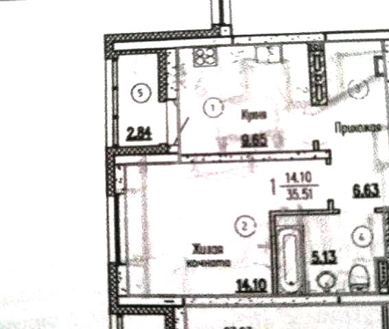 1-комн. квартиры г. Сургут, Югорский, тракт 4 (р-н Северный жилой) фото 15