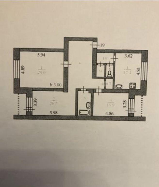 3-комн. квартиры г. Сургут, Ленина, проспект 41 (р-н Центральный) фото 9