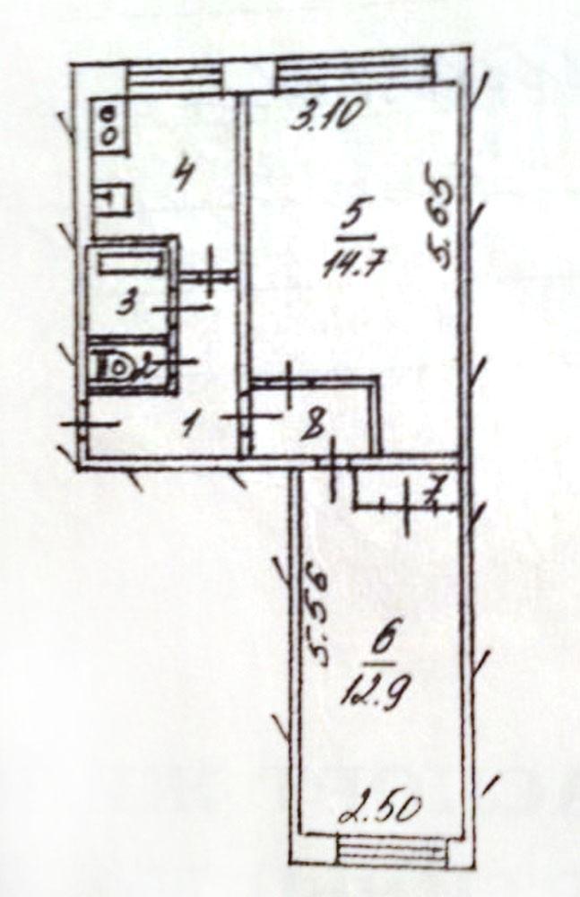Комнаты г. Сургут, Энергетиков 43 (мкрн 8) фото 3