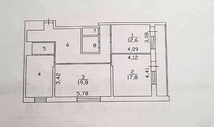 3-комн. квартиры г. Сургут, Крылова 36 (р-н Северный жилой) фото 16