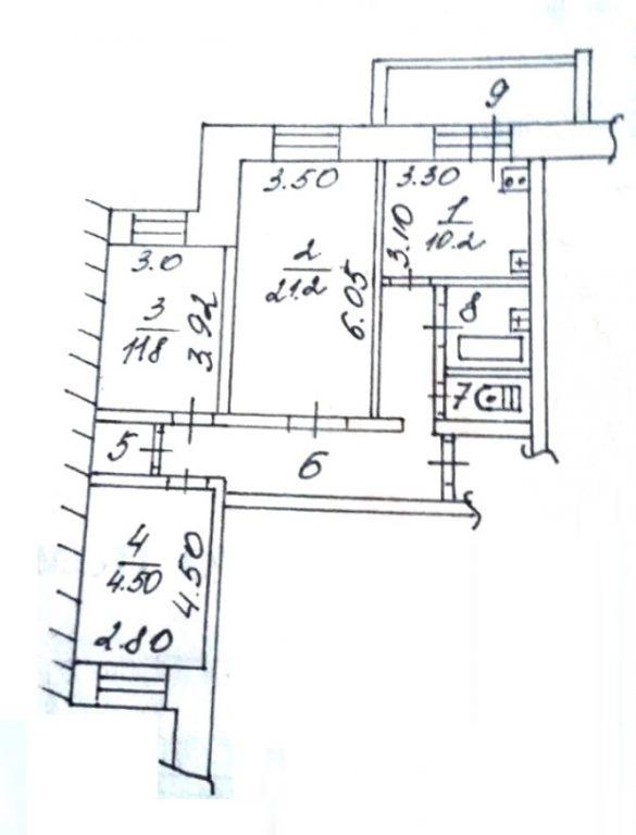 3-комн. квартиры г. Сургут, Быстринская 10 (р-н Северо-восточный жилой) фото 4