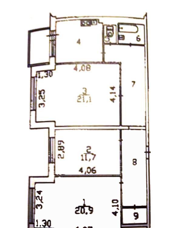 Комнаты г. Сургут, Игоря Киртбая 13 (мкрн 5 А) фото 6