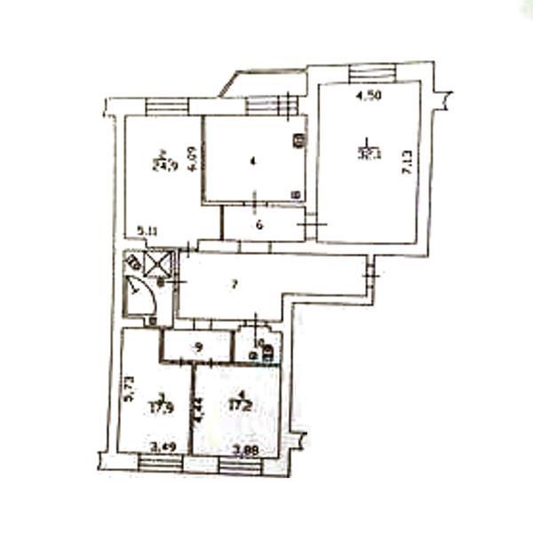 4-комн. квартиры г. Сургут, Ленина, проспект 41 (р-н Центральный) фото 4