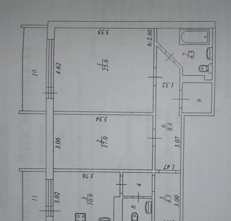 2-комн. квартиры г. Сургут, Игоря Киртбая 19/3 (р-н Северный жилой) фото 1