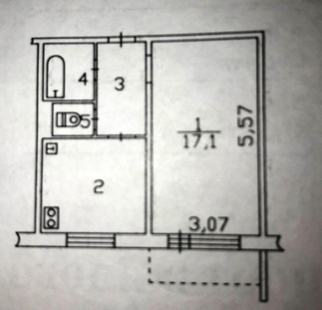 1-комн. квартиры г. Сургут, Гагарина 10 (р-н Центральный) фото 13