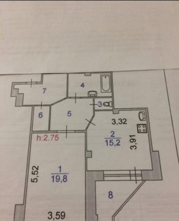 1-комн. квартиры г. Сургут, Мира, проспект 55 (р-н Северо-восточный жилой) фото 9