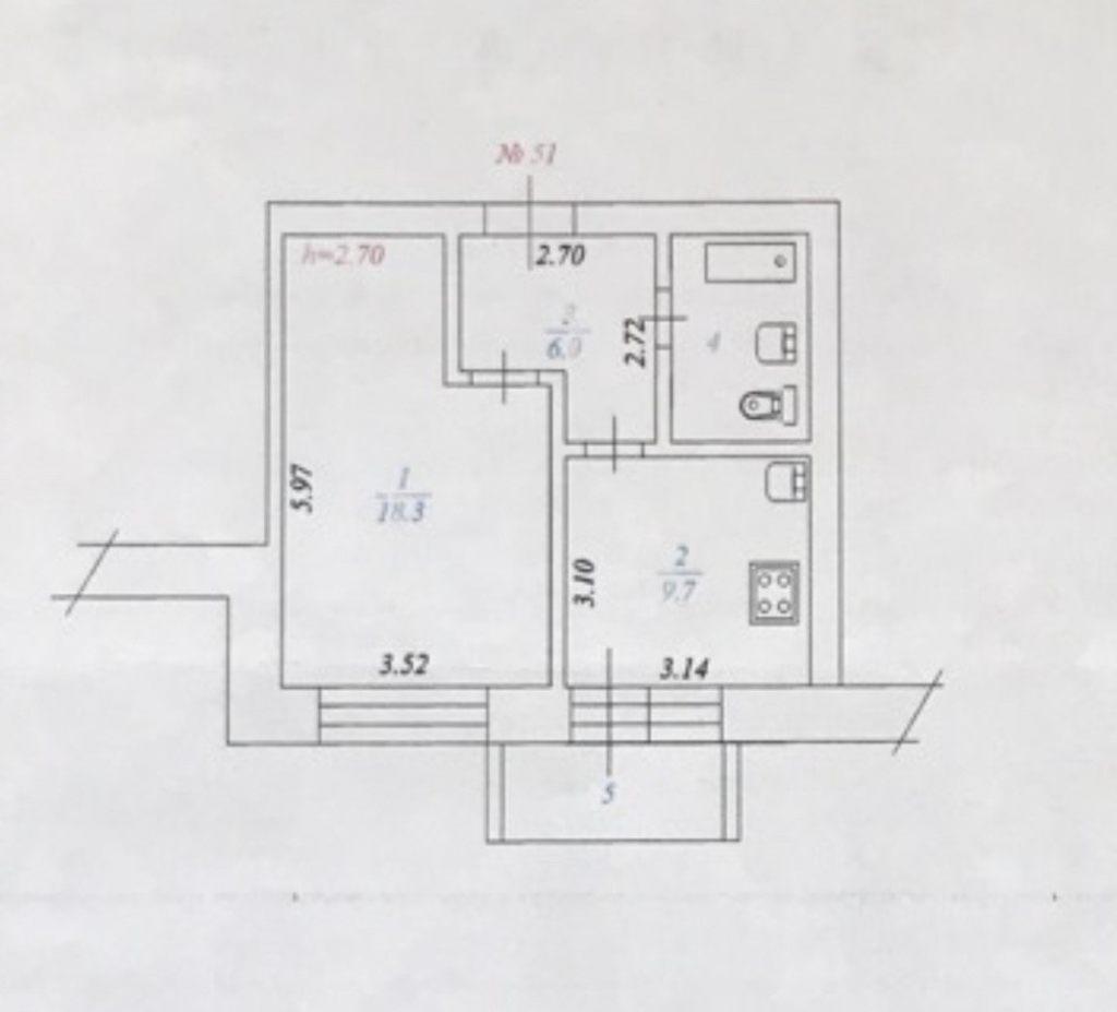 1-комн. квартиры г. Сургут, Быстринская 10 (р-н Северо-восточный жилой) фото 7