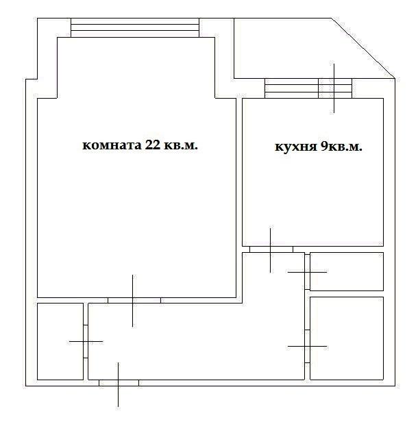1-комн. квартиры г. Сургут, Ленина, проспект 62 (р-н Северный жилой) фото 6