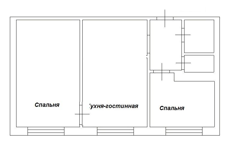 2-комн. квартиры г. Сургут, Ленина, проспект 53 (р-н Центральный) фото 1