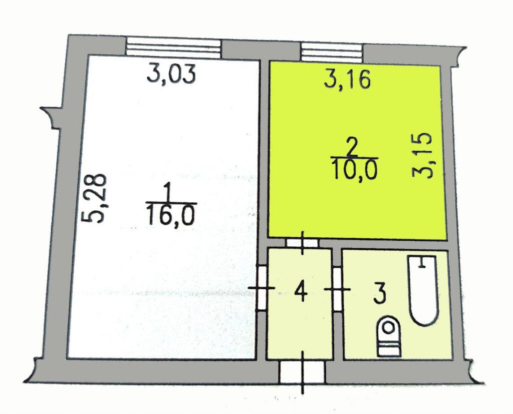 Комнаты г. Сургут, Маяковского 16 (р-н Северо-восточный жилой) фото 4