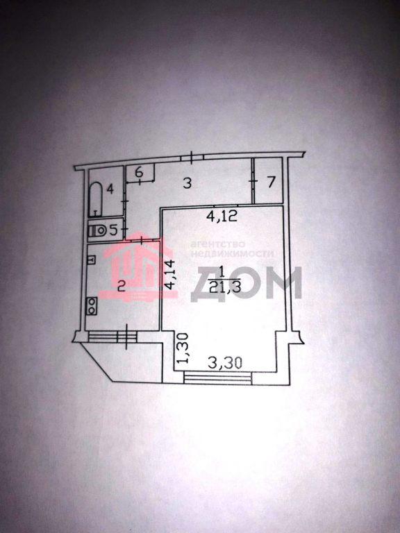 1-комн. квартиры г. Сургут, Ленина, проспект 29 (р-н Центральный) фото 2