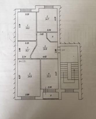 3-комн. квартиры г. Сургут, Сибирская 11б (мкрн 18) фото 13