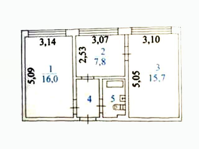 2-комн. квартиры г. Сургут, Бажова 31 (р-н Центральный) фото 11