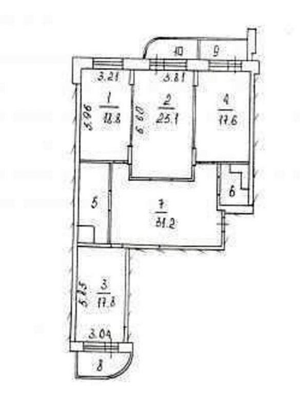3-комн. квартиры г. Сургут, Университетская 7 (мкрн 19) фото 11