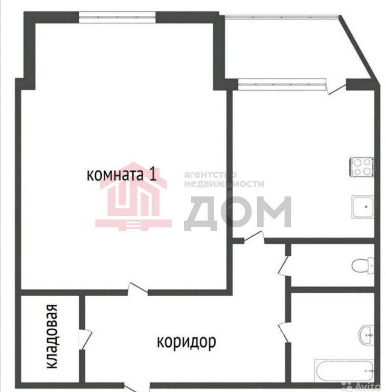 1-комн. квартиры г. Сургут, Дзержинского 3а (р-н Центральный) фото 1