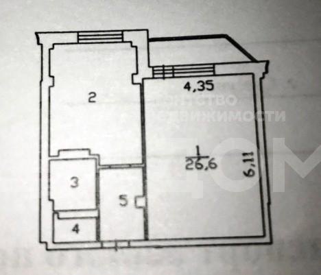 1-комн. квартиры г. Сургут, Югорская 17 (р-н Восточный) фото 15