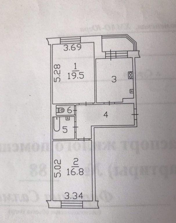 2-комн. квартиры г. Сургут, Фармана Салманова 2 (р-н Восточный) фото 13
