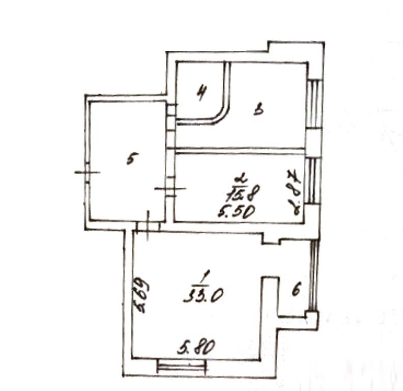 2-комн. квартиры г. Сургут, Комсомольский, проспект 13 (р-н Восточный) фото 1